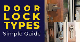 door lock types a simple guide for