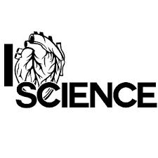 I Heart Science Weatherproof Vinyl Decal