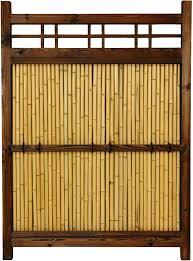 Amazon Com Oriental Furniture 4 Ft X 3 Ft Japanese Bamboo Kumo Fence Furniture Decor