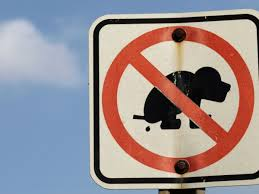 can i deter dog fouling outside my house