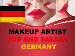 makeup artist salary in germany jobs
