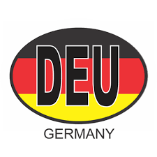 Germany Osc3 Colour Oval Car Decal Flags N Gadgets
