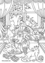 Pin Van Carin Op Kleurplaat Fransiens Katten Kleurplaten