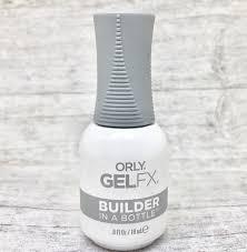 builder in a bottle 0 6oz orly gel fx