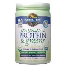 raw organic protein greens real