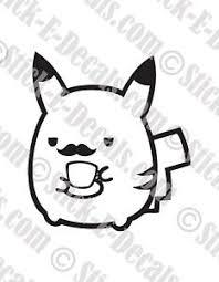 Pokemon Baby On Board Pikachu Vinyl Decal Sticker Free Usa Shipping