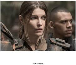 The 100 Ivana Milicevic as Charmaine Diyoza Looking Soft and ...