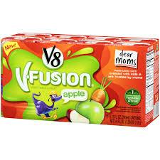 v8 v fusion vegetable fruit apple