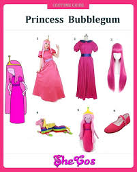 tutorial for princess bubblegum costume