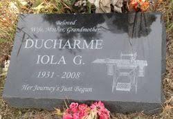 Iola Georgette Smith Ducharme (1931-2008) - Find A Grave Memorial