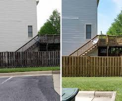 Northern Virginia Fence Cleaning Pressure Wash Ultimate Powerwash