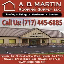 A B Martin Roofing Supply Metal Roofing Siding Ephrata Pa Lancasterfarming Com