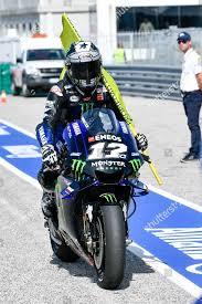 French MotoGP rider number 12 Maverick Vinales Editorial Stock ...