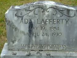 Ada Bailey Lafferty (1884-1930) - Find A Grave Memorial