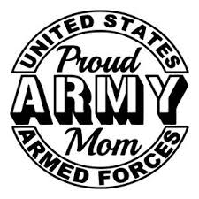 Army Mom Military Heroes Adhesive Car Decal Many Colors Pick A Size Ebay