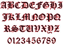 Reflective Old English Letters And Numbers Helmet Decal Police Fire Ems Viny Graphics Stickers Decals Dkedecals