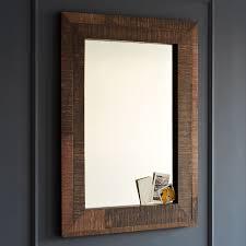 bathroom d i y reclaimed frame