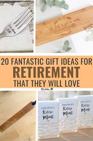 retirement gifts unique gift ideas