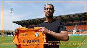 Transfer | Byron Harrison signs for Barnet FC - News - Barnet Football Club