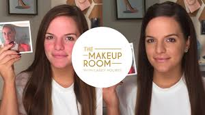 the makeup room w casey holmes get