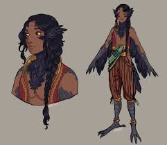 Pin by Abby Sprouse on character designs | Character design references,  Concept art characters, Bird people