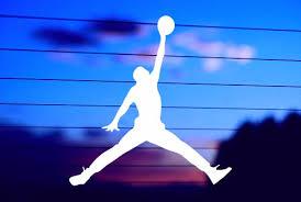 Basketball Jumpman Car Decal Sticker