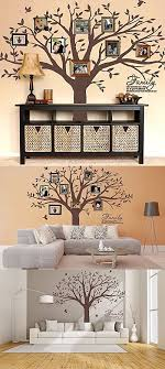 Mafent Family Tree Wall Decal Quote Family Like Branches On A Tree Lettering Tree Wall Sticker For Bedroom Decoration Dark Brown Family Tree Wall Decal Family Tree Wall Family Wall Decor
