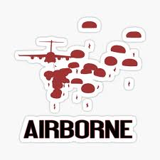 Airborne Stickers Redbubble