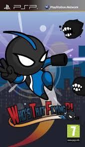 Resultado de imagen de Who's That Flying psp cover