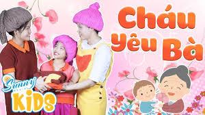 Bà Ơi Bà - Cháu Yêu Bà 🌷 Nhạc Thiếu Nhi Về Gia Đình | Bài Hát Thiếu Nhi Về  Mẹ Và Bà Hay Nhất 2019 - YouTube