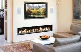 electric modern fireplace