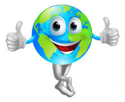 Tierra con cara feliz Imágenes Vectoriales, Ilustraciones Libres de  Regalías de Tierra con cara feliz | Depositphotos®