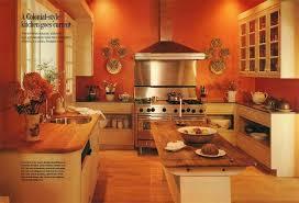 orange kitchen color ideas