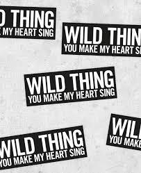 Wild Thing Sticker Bestplayever Com Bumper Laptop Stickers