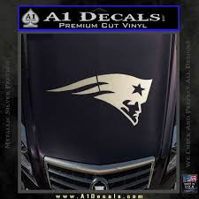 New England Patriots Head Decal Sticker A1 Decals