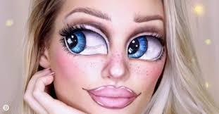 bratz makeup challenge is taking over