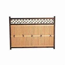 Natural Bamboo Wooden Fence Panel Available In Japanese Style Global Sources