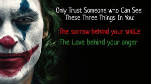 joker quote don t trust any