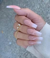 82 trendy acrylic coffin nails design