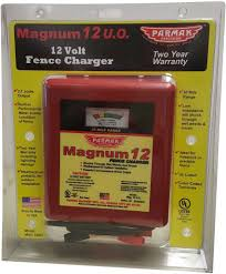 Magnum 12 Uo Fence Charger Parker Mccrory Chargers Electric Fencing