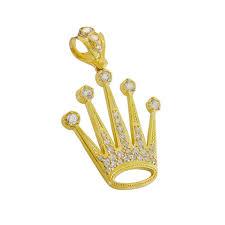 10k yellow gold rolex charm 435 02205