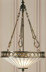 light art deco style tiffany pendant