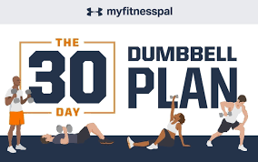 fitness fast with this 30 day dumbbell