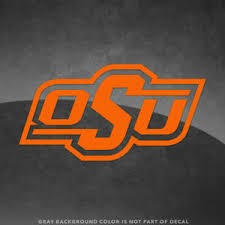 Oklahoma State Cowboys Osu Logo Vinyl Decal Sticker 4 And Up More Colors Ebay