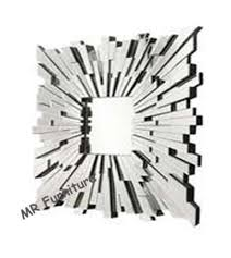 square glass decorative mirrors for