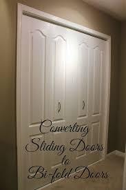 sliding doors to bi fold doors