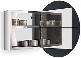 stainless steel mirror cabinet bathroom