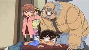 Những tình huống Conan nhìn thấy đồ lót của Haibara - YouTube
