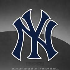New York Yankees Mlb Decals For Sale Ebay