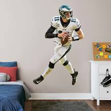 Fathead Carson Wentz Philadelphia Eagles Away 3 Pack Life Size Removable Wall Decal